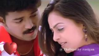 One of the Best Love Song | thalapathy vijay's collection | watsapp love status | thalapathy rasigan