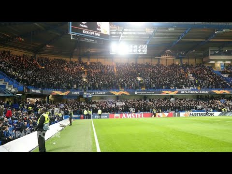 6.000 PAOK fans take over London | Chelsea - PAOK 29.11.2018