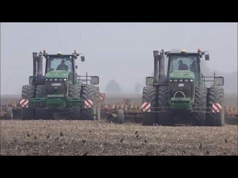2x John Deere 9630-Horsch / Bodenbearbeitung 2017
