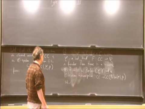 Type Systems II- Vladimir Voevodsky