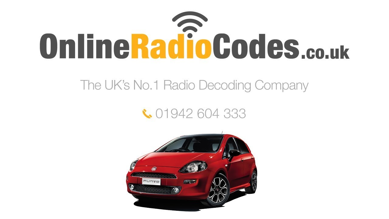 🚗 Fiat Punto Radio Code Unlock Your Stereo With The PIN Decode ... 8eb3edeab1
