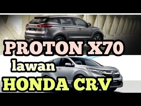 Proton X70 vs Honda CRV - kos pemilikan dan senggaraan
