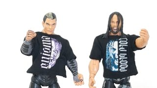 Jeff Hardy Matt Hardy Twist of Hate Two Pack TNA Figures Unboxing & Review!!