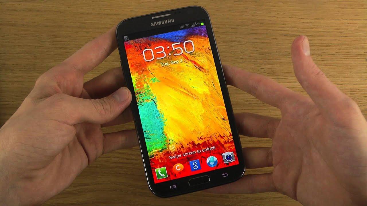 New Samsung Galaxy Note 3 Lockscreen Wallpaper Leaked