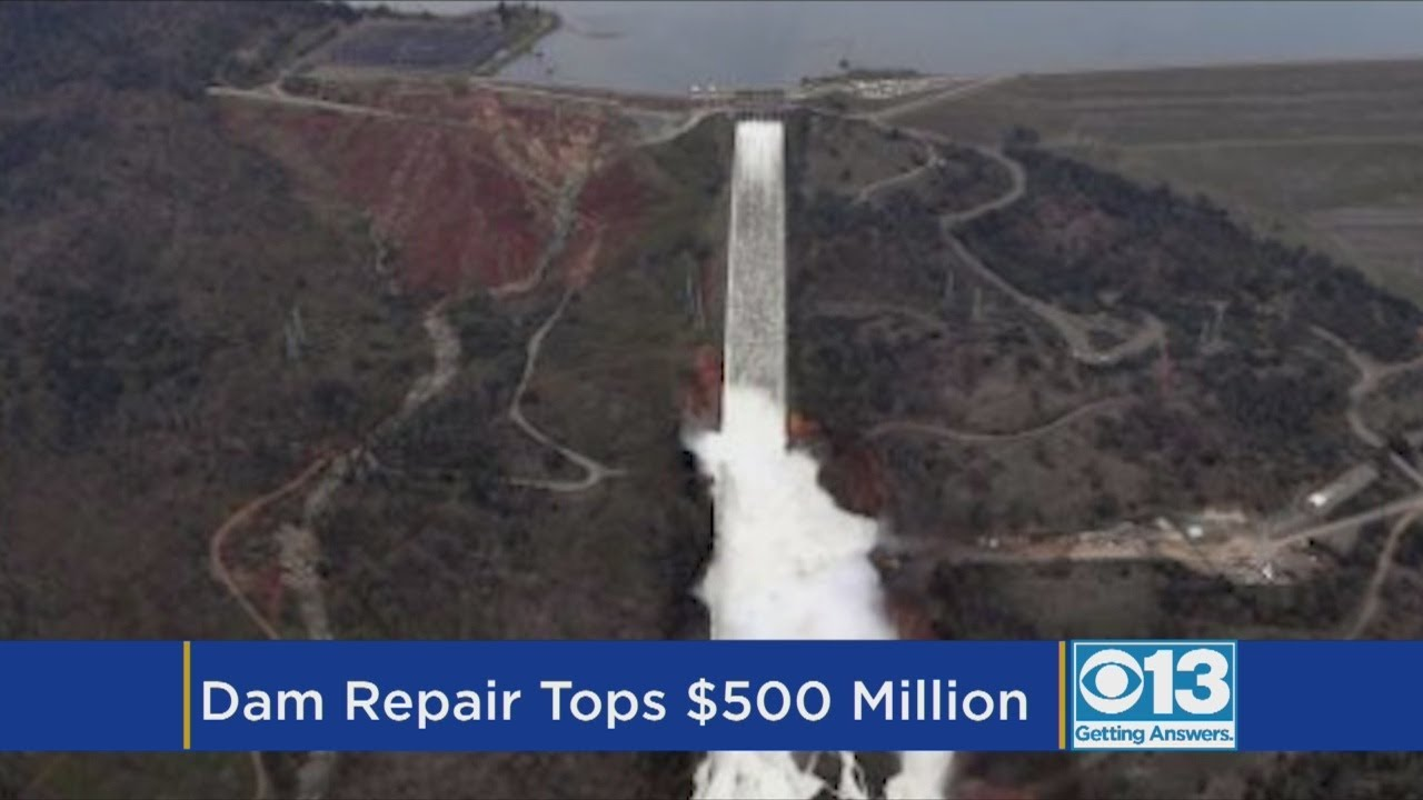 Cost Of Oroville Dam Repair Nearly Doubles, Will Top $500 Million