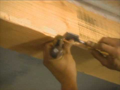 How to Distress Wood Beams for a Century-Old Look - Bob ...