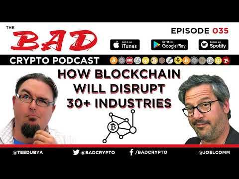 How Blockchain will Disrupt 30+ Industries