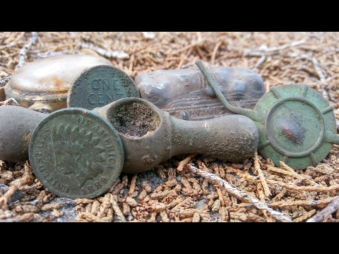 Historic Florida Old Coins & Relics Metal Detecting