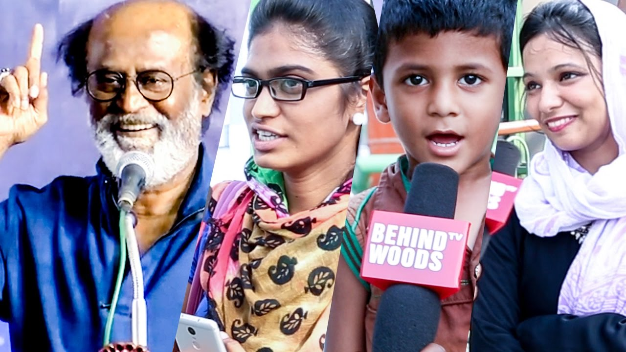 CHENNAI REACTS: What If Thalaivar Superstar Rajinikanth Enters Politics? | DC 36