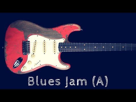 Blues Guitar Jam | Fast Shuffle Backing Track (A)