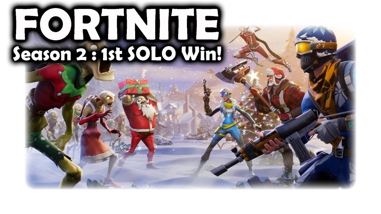 Season 2 Win   Fortnite - YouTube