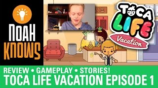 Toca Life: Vacation (Toca Boca) ★ Gameplay Episode 1 ★ People These Days!