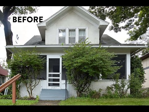 This house needed a new paint job, bad. [Sponsored]
