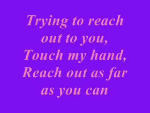 David Archuleta Touch My Hand Lyrics