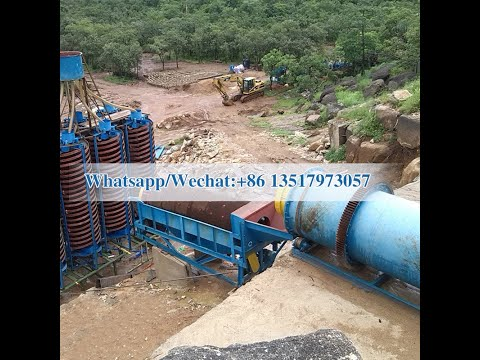 Nigeria Alluvial Sand Tin Ore Processing  Tantalum-Niobium Ores Processing