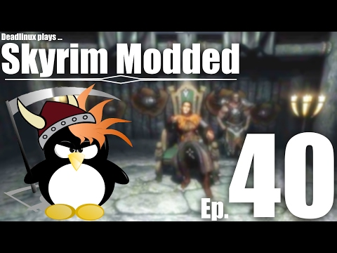 Thane of Morthal! - Skyrim Modded Ep 40 - YouTube