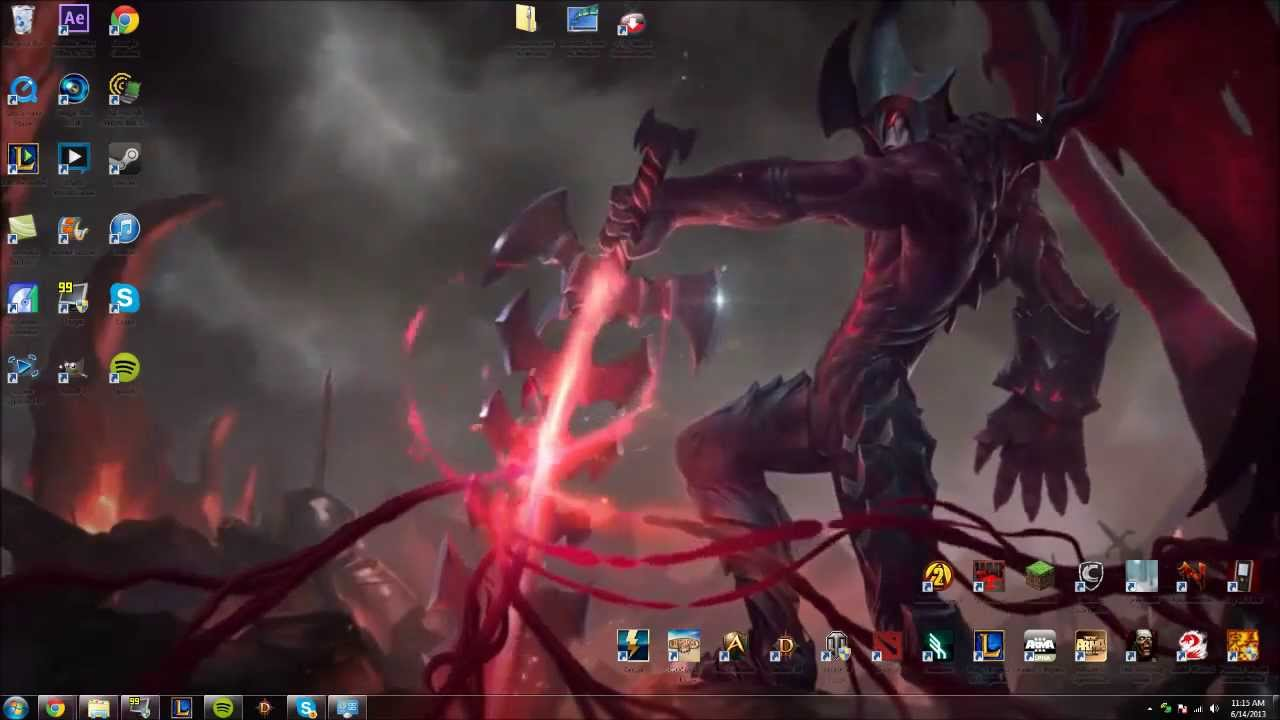 animated wallpaper windows 7 league of legends