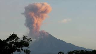 Promised Apocalypse Has Began. Giant Supervolcano Eruption Mexico City Popo Volcano December 2017