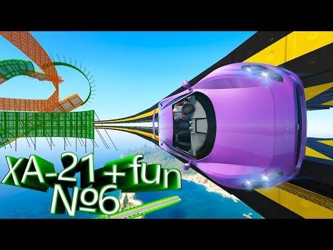 Видео обзор своей карты в GTA 5 Online: XA-21 + Fun №6