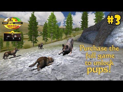 WolfQuest Mobile 2.7.2 -Make Pups- Android/iOS/Kindle - Gameplay Episode 3
