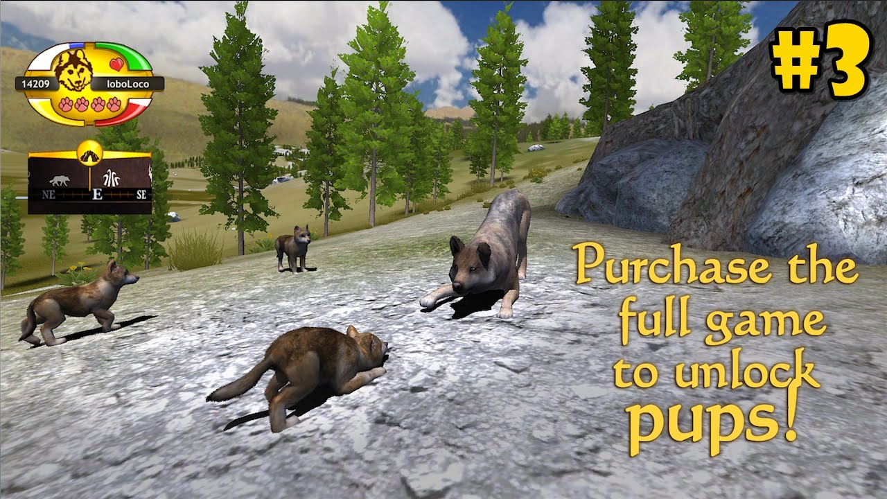 WolfQuest Mobile 2.7.2 - Raise a Family - Android/iOS ... - photo#11