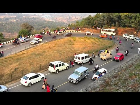 Tourist Place near Ranchi - Patratu Valley Ghati view during New Year 2017