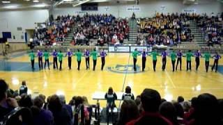 edina dance team kick 2011
