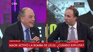 02-08-2019 - Carlos Heller en C5N – Debate Abierto, con Pablo Duggan – Debate con Miguel Boggiano