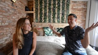 Behind the scenes of Stuart Scott and Carly Houston's Boutique HMO