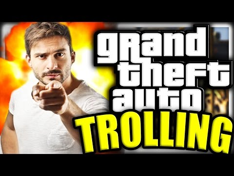 Grand Theft Auto 5 Online Trolling Making Kid Delete His Account