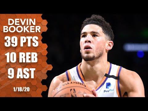 Devin Booker drops 39 points in Suns vs. Celtics | 2019-20 NBA Highlights