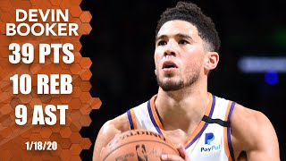 Devin Booker drops 39 points in Suns vs. Celtics | 2019-20 NBA Highlights