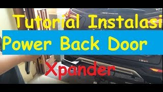 Tutorial Instalasi Power Back Door Xpander