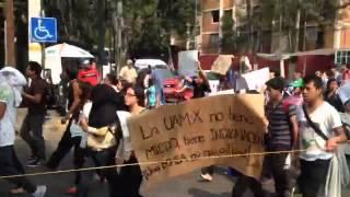 "Alumnos de UAM Xochimilco acusan ""terrorismo de Estado"", tras amenaza de bomba"