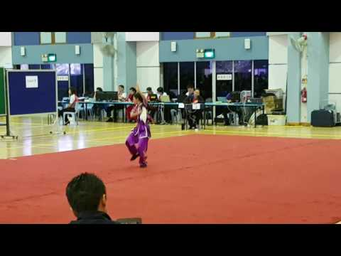 Singapore Inter-school Senior Girl Wushu 四段刀 - 24 March 2017
