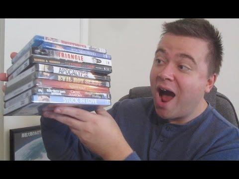 $1 Blu Rays & Dvds! 9 Pickups Dollar Tree Haul!