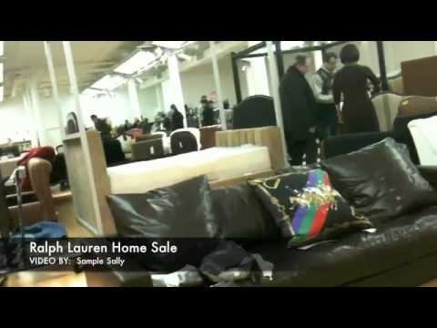 Ralph Lauren Home Sale - YouTube