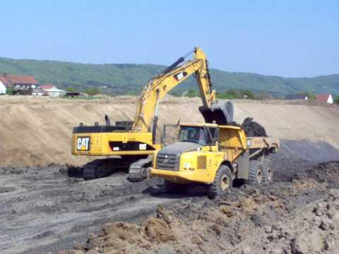 Caterpillar 347DL Excavator   Source Machinery Website