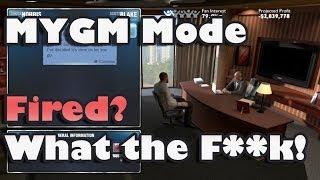 NBA 2K14 : MyGM Mode - I got fired?! What?!
