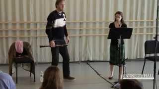 Carnegie Hall Oboe Master Class: Rossini