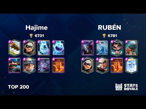 Hajime Vs RUBÉN [TOP 200]