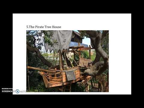 Top Five coolest designs for your DIY Treehouse!