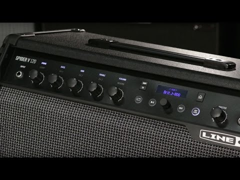 Line 6 Spider V Guitar Amplifiers