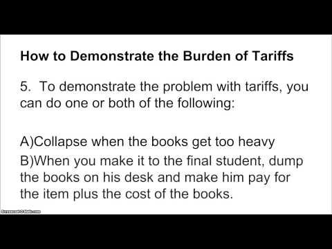 How to Teach Social Studies: Tariffs Lesson