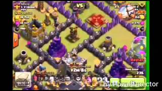 Clash of clans . trolando lava haund