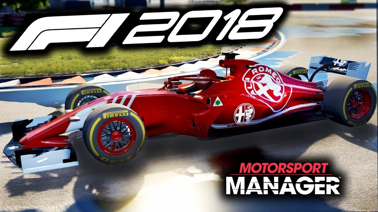 f1 2018 alfa romeo manager career motorsport manager pc. Black Bedroom Furniture Sets. Home Design Ideas