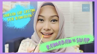 Durian lip cream for ramadan? | INDAH NADA PUSPITA