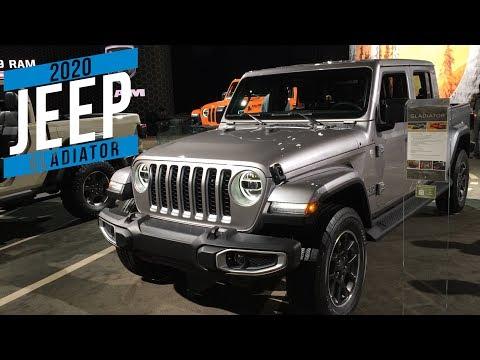 2020 Jeep Gladiator at Detroit auto show