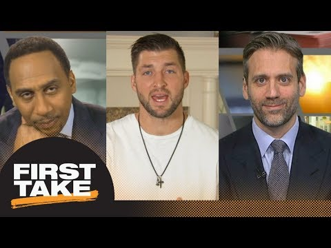 Stephen A., Max and Tim Tebow react to College Football Playoff championship   First Take   ESPN