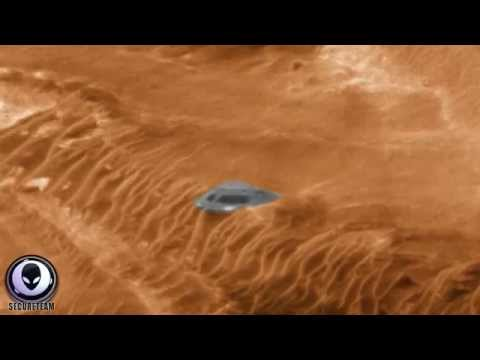 BEST MARS UFO SIGHTINGS [HD] ALIEN SAUCER WITH WINDOWS ON MARS